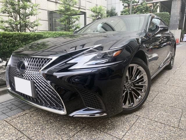 「LS500h エグゼクティブ」社有車、役員送迎にも重宝する一台!