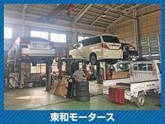自社にて認証工場を完備しております。車検など車両のメンテナンスもお任せください。