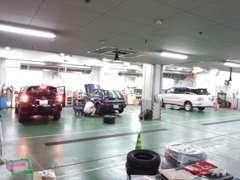整備工場も併設納車前整備・アフターメンテナンスはお任せ!