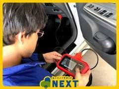 診断機も完備しています!(国内外19メーカー対応) 車の状態を正確に把握し、最善の整備を実施いたします♪