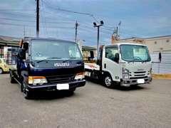 万が一の事故や故障にも対応いたします!!車両積載車にてお客様のもとへ向かいます!