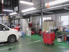 サービス工場を新設致しました。お客様のより良いカーライフのお手伝いをさせて頂きます。