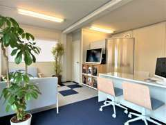 清潔感のある商談スペースをご用意させて頂いております!