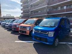 ◆展示場:メガセンタートライアル新宮店すぐ◆普通車だけでなく、軽自動車も多数取り揃えております!