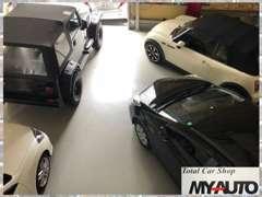 ◆ガレージ保管車両多数!良い状態で車両を管理しています。 Total car shop MY-AUTO TEL:052-908-6663