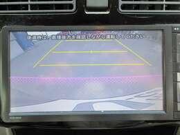 バックカメラも付いていますので、目視しにくい後方もこれならバッチリ確認できて駐車も楽々です♪