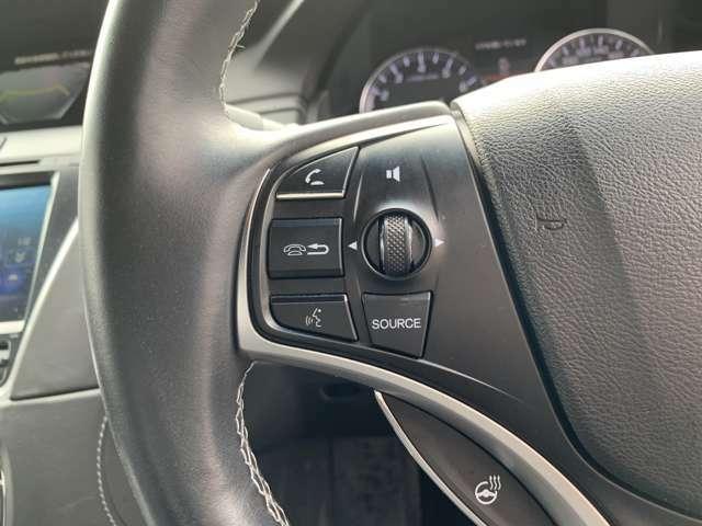 オーディオリモコンスイッチ搭載☆ハンドルを握ったままオーディオ操作が可能ですので、運転中に視線をそらさず安全運転が出来ます。