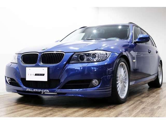 正規ディーラー車 2010年モデル BMW ALPINA D3ツーリング 右ハンドル アルピナブルーメタリック/ブラックハーフレザー