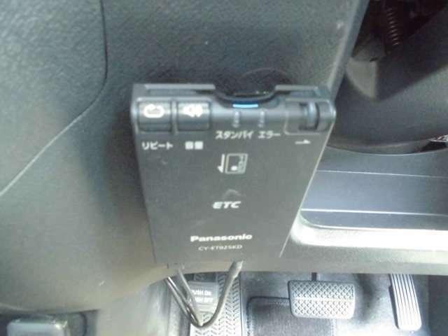 ETC装備で高速道路も楽々お乗りいただけます。