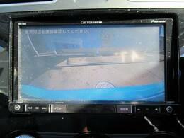 駐車時も楽々【フルカラーバックモニター】装備で初心者の方でも安心。