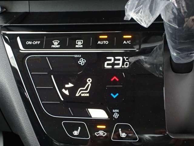タッチパネル感覚にて操作可能 フルオートエアコン
