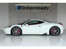 フェラーリ 458スペチアーレ F1 DCT 走行1315km Ferrari7年メンテナンス該当車