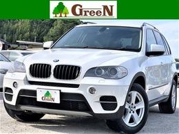 BMW X5 xドライブ 35i 4WD 後期7人乗3列黒革純正HDD地デジB&TOPカメ