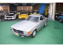 メルセデス・ベンツ SLクラス 450SL ハードトップ オープントップ 左H D車 本革 クルコン 純正AW フォグ