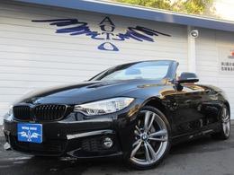 BMW 4シリーズカブリオレ 435i Mスポーツ 赤革 ACC LEDヘッドライト ヘッドアップD