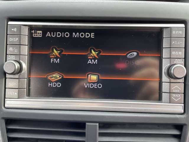 【純正HDDナビ】CD/DVD/運転がさらに楽しくなりますね♪