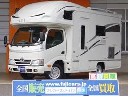 トヨタ カムロード ナッツRV クレア 5.3 タイプW 常設2段ベッド 家庭用エアコン 1オーナ