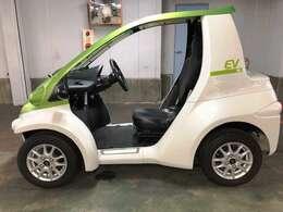 コンパクトサイズの一人乗り電気自動車☆ガソリン代がかからないので経済的です☆