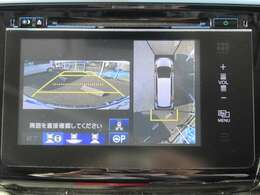 ★マルチビューカメラ★ 4か所のカメラを使い疑似的に360度を映してくれるマルチビューカメラ付きです!大きな車体には嬉しい機能ですね♪