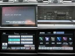 お出掛けに嬉しい、フルセグ対応純正SDナビ付きです♪DVDビデオ再生機能・音楽録音機能・AUX/USB/Bluetooth接続機能も装備しております♪