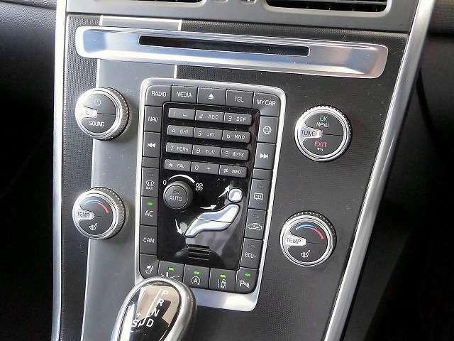 ◆前席左右独立温度調整機能付フルオートエアコン/運転席と助手席の温度設定が個別に設定できます◆