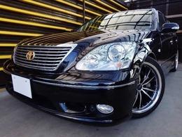 トヨタ セルシオ 4.3 eR仕様 19インチ黒本革マルチサンルーフエアロ仕様