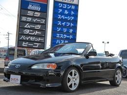 トヨタ サイノスコンバーチブル 1.3アルファ コンバーチブル ローダウン USマーカー キーレス