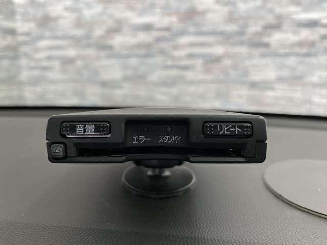 有料道路でとても便利なETCが搭載されています!