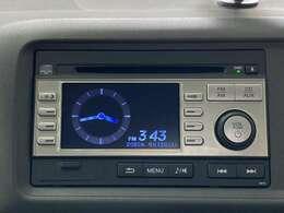 ディスプレイオーディオが搭載されているのでCD等を掛けながらドライブを楽しむことができます。