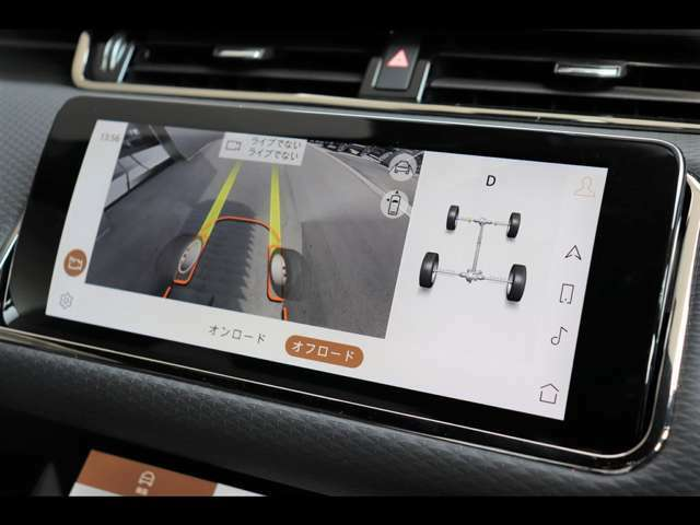 クリアサイトグラウンドビューを装備。また、ナビゲーションシステムも一新され、より操作性も向上!AppleCarPlay / Android Autoにも標準で対応しております。