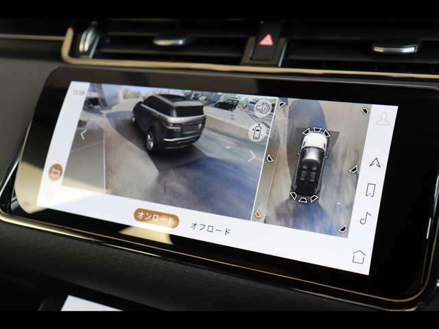 3Dサラウンドカメラシステムや客観視線で車輌位置を確認できる新しいカメラシステムも内蔵!オプションのクリアサイトインテリアビューも装着済みです!