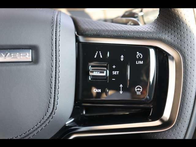アダプティブクルーズコントロールを搭載し、前を走る車を追従する便利なオートクルーズをご使用になれます。長距離ドライブの際の疲労も大幅に軽減!