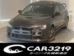 三菱 ランサーエボリューション 2.0 GSR X 4WD サンルーフ スタイリッシュエクステリア