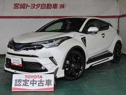 トヨタ C-HR ハイブリッド 1.8 G モード ネロ 純正9インチナビ&カメラ付