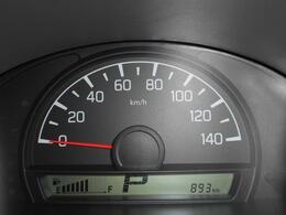 見やすいメーターです。走行距離はなんと、893kmです(^0^)