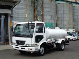 UDトラックス コンドル 散水車 極東開発 PTO式 LH04-304モデル