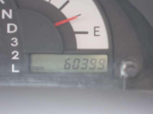 距離は6.0万キロ!