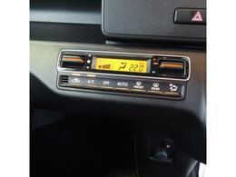 エアコンも自動ですので、適切な温度にしてくれます。