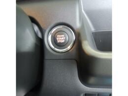 エンジンはこのボタンワンプッシュでかかります!