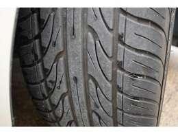 タイヤ溝たっぷりあります