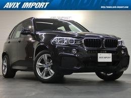 BMW X5 xドライブ 35i Mスポーツ 4WD セレクトP パノラマR 茶革 7人乗り LED ACC
