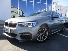 BMW 5シリーズ 523d xドライブ Mスピリット ディーゼルターボ 4WD Mスピリット18AW弊社デモカー 認定中古車