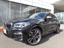 BMW X4 M40i 4WD 21AW白革地デジACCセレクトPデモ認定車