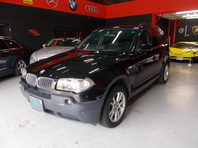 程度良好な人気ブラックX3 2.5i 4WDの入庫です!