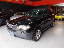 BMW X3 2.5i 4WD 記録簿 社外ナビ アルミ