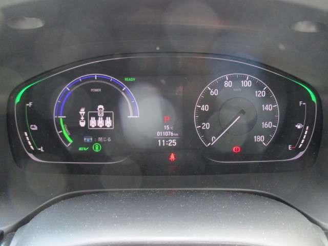 ★大きなメーター★大きくて明るい見やすいスピードメーターです。スピードの出しすぎに注意しましょう。