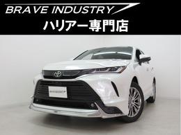 トヨタ ハリアー 2.0 Z 新車 内装ブラウン調光ル-フ JBLモデリスタ