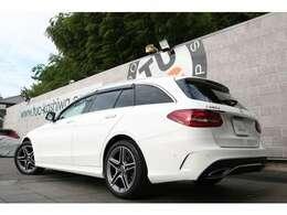 人気のステーションワゴン!C220dワゴン アバンギャルド AMGライン 入庫です!外装色はポーラーホワイトを配色!