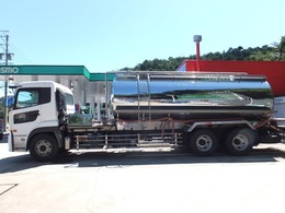 UDトラックス クオン タンク車 青木製作所タンク 最大数量12000 最大積載量12000