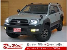 トヨタ ハイラックスサーフ 2.7 SSR-G 4WD 本州仕入/新品MTタイヤ/アーバンカーキII